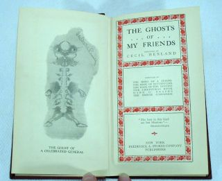 The Ghosts of My Friends 1910