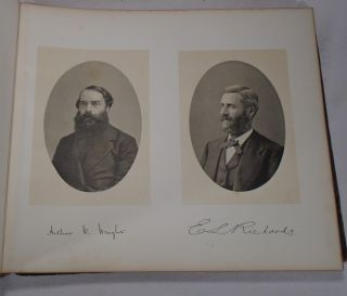 Yale College Yearbook and Order of Exercises at the Commencement of Yale College, 1884