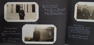Photograph Album 1935 - 1937, College of Holy Cross, Governor James M. Curley, Father Coughlin