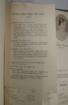 Alumnae Scapbook: Smith College's Fitchburg College Club 1903-1940
