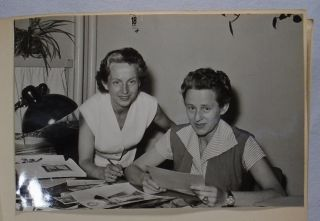 Irmgard Albrecht's Photograph Album of German Film and Publishing Industry: Grethe Weiser, Hildegard Knef, Barbara Frey, Axel Springer