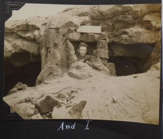 1920's Photograph Album of Army Air Corp Serviceman: American West, San Francisco, Nevada, , Hawaii, Angel Island, and Military