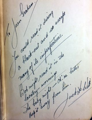 Murder on Shark Island [SIGNED AND INSCRIBED]