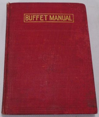 The Complete Buffet Manual or How to Mix Fancy Drinks