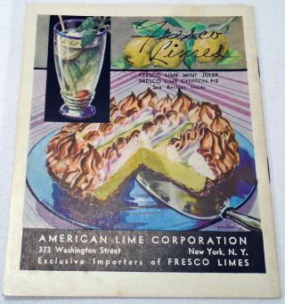 Cocktail Memoirs of Fresco Lime, A Tart and Aromatic Fruit of the West Indies