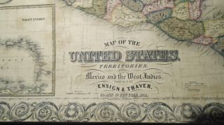 Map of the United States with its Territories [WALL MAP]