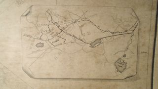 Plan of Chestnut Hill in Brookline and Newton [WALL MAP]