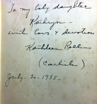 Honeymoon Path [SIGNED AND INSCRIBED]