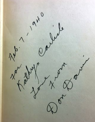 Return of the Rio Kid [SIGNED AND INSCRIBED]