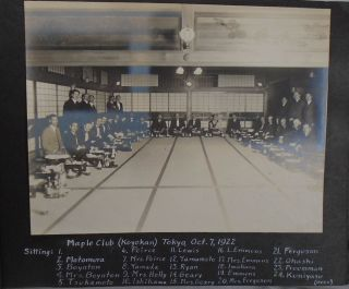 Photograph Albums [Five] of Tour of Japan and China with focus on Hydro-Electric Power Plants [General Electric Interest] Also Hawaii, Geisha, Kyoto, Tokyo, Tokyo Electrotechnical Laboratory, Shanghai, Cross Dressing, Shanghai.