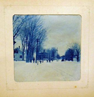 Cyanotypes Photograph Album of Boston and Oregon, Pacific Northwest, South Pacific Coast Railroad