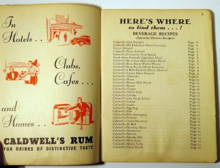 Here's How - Caldwell's Rum