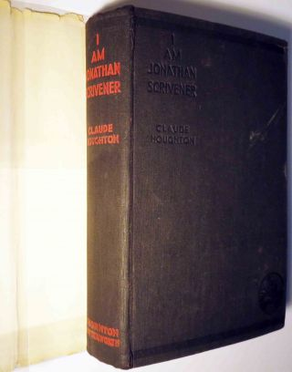 I Am Jonathan Scrivener [SIGNED AND INSCRIBED]