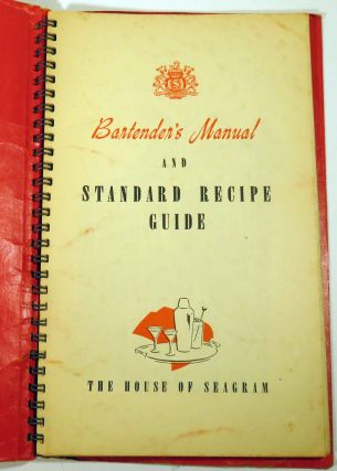 Bartender's Manual and Started Recipe Guide [COCKTAILS]