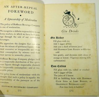 A Manual For Mixing Drinks [COCKTAIL RECIPES]