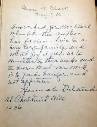 The Glorious Art of Home Cooking [SIGNED AND INSCRIBED WITH LETTER]
